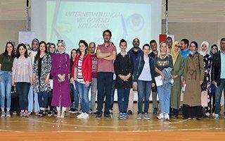 """""""İnternetin Bilinçli ve Güvenli Kullanımı"""" semineri"""