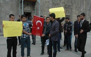 Arakan'daki zulme Erzurum'dan tepki