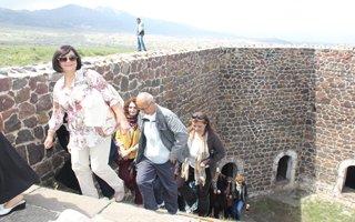 Gurbetçi Erzurumlular memlekete döndü