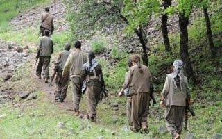 Askeri kuşkulandıran PKK fotoğrafı