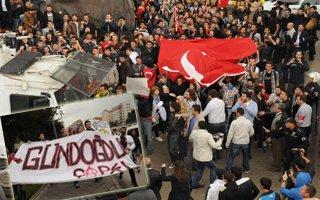 Erzurum'da park isyanı!
