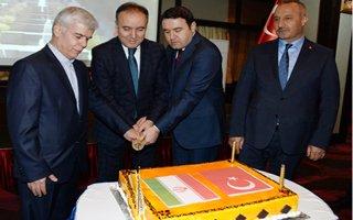 İran Milli Günü Erzurum'da da Kutlandı
