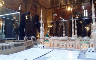 Mescid-i Aksa Maketi Ulu Camii'de Sergileniyor