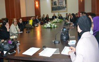 "Erzurum'da ""Aile İçi Şiddetle Mücadele"" Projesi"