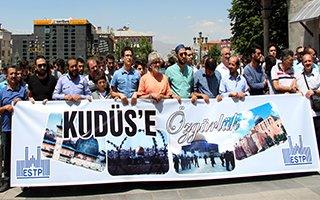 Erzurum Kudüs için ayakta