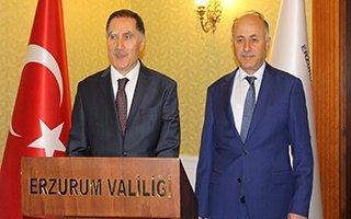 Kamu Başdenetçisi Şeref Malkoç Erzurum'da