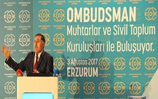 Ombudsman Erzurumlularla buluştu