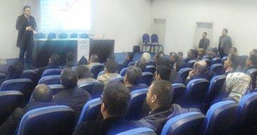 'Kadına Yönelik Şiddetle Mücadele' semineri