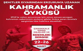 Kahramanlık Öyküsü Forum Erzurum'da