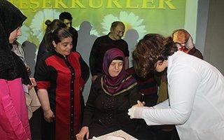 Erzurum'da yaşlılara saygı haftası etkinlikleri