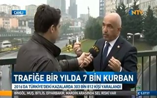 Mustafa Ilıcalı: Trafik bilinci oluşturmalıyız