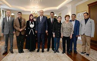 Vali Azizoğlu'na Engelliler Haftası ziyareti