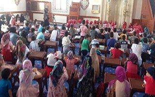 Erzurumlu çocuklardan 15 Temmuz programı