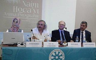 TYB Erzurum Şubesi'nden Naim Hoca'yı anma
