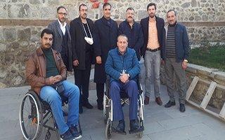 Engelliler Meclisinden Gazi Saylanlar'a destek