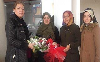 Şehit Annelerine Dünya Kadınlar Günü Ziyareti