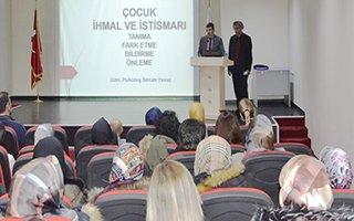 'Çocuk İhmal ve İstismarını Önleme' semineri