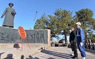 Atatürk Erzurum'da da törenlerle anıldı