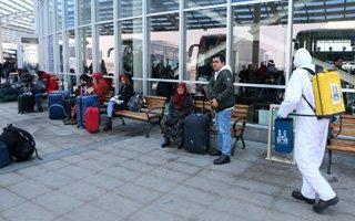 Büyükşehir'den dezenfeksiyon rekoru