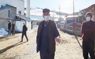 Tortumlu vatandaşlar ineklerini kampanyaya bağışladı