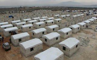 Başkan Sekmen'den İdlib'e 1000 ev bağışı