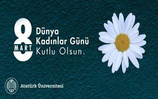Rektör Ömer Çomaklı'dan 8 Mart mesajı!