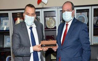 Slovenya Büyükelçisi Seligo'dan ETSO'ya ziyaret