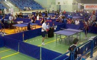Erzurum Polisinin masa tenisi başarısı!