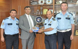 Emniyet Müdürünü gururlandıran polisler!