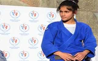 Şeymanur Judo'da Balkan üçüncüsü