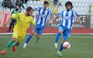 Mavi Beyazlılar Çıksalınspor'u 2-0 yendi