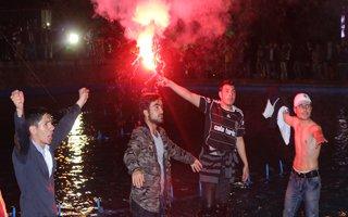 Erzurum'da Siyah-Beyaz Coşku