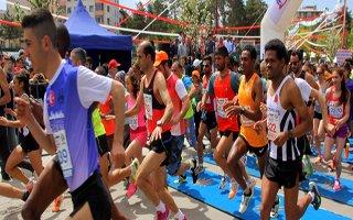 Erzurum'da Yarı Maraton Heyecanı Vardı