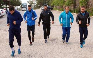Kırkpınar Pehlivanları Erzurum'da