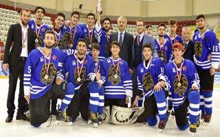 Büyükşehir Buz'da Lig Şampiyonu Oldu