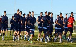 BB Erzurumsporlu futbolcular topbaşı yaptı