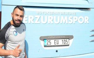 BB Erzurumspor'lu Murat Paluli'ye Milli Görev