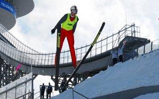 FIS Kayakla Atlama Kıtalararası Kupası Başladı