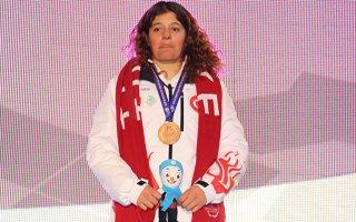 Türkiye ilk madalyasını kazandı