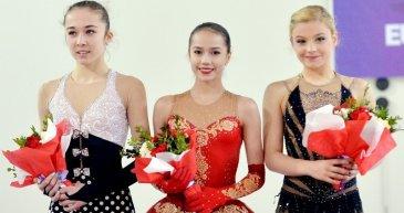 Kızlar Artistik Patinajda İlk Üç Belli Oldu