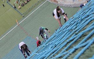 Kısa mesafe koşusu Erzurum'da yapıldı