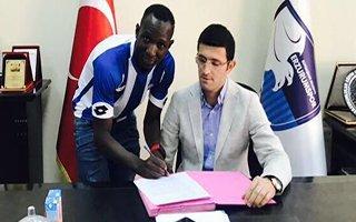 Mansaly Boubacar BB. Erzurumspor'da