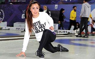 Curling Gelişim Kampı Erzurum'da başladı