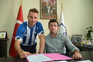 Tolga Ünlü B.B. Erzurumspor'a imza attı