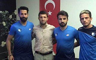 B.B.Erzurumspor'da iç transferde üç imza