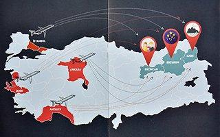 'Ski Silk Road'  Türkiye'ye tanıtılıyor