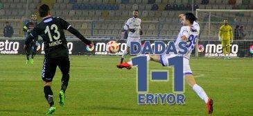 BB Erzurumspor: 1 - Manisaspor: 1