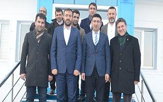 Çintimar'dan BB Erzurumspor'a ziyaret