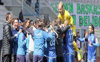 Erzurumspor 28'inci haftaya damga vurdu