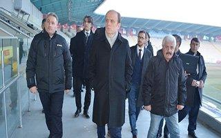 Erzurum Olimpiyat için görücüye çıkıyor